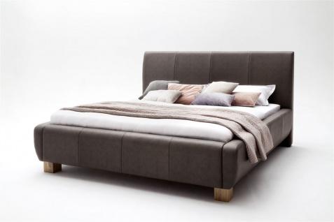 Polsterbett Bett Doppelbett Tagesbett - MODENA- 180x200 cm Braun - Vorschau 4