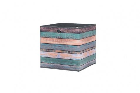 Faltbox Box City WOOD 1 32 x 32 cm - 3er Set