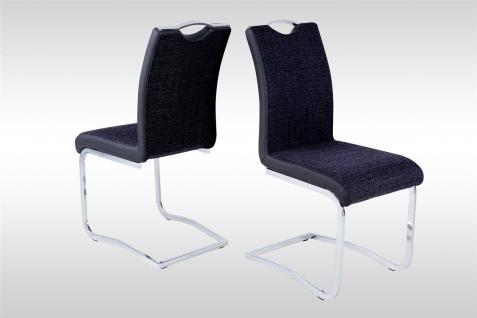 freischwinger st hle schwarz g nstig online kaufen yatego. Black Bedroom Furniture Sets. Home Design Ideas