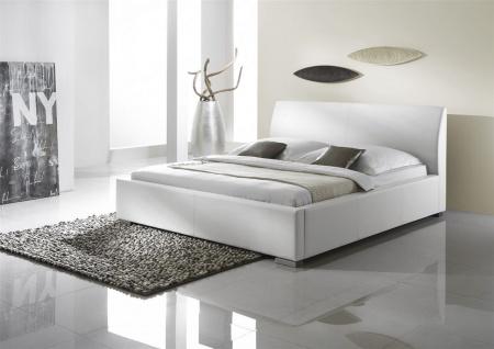 Polsterbett Bett Doppelbett Tagesbett - COSIMO 2 - 180x200 cm Weiss