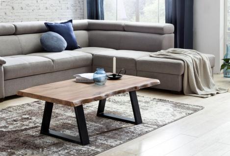 Couchtisch Tisch Baumstamm ULANA 115x60x40 cm Holz Akazie Landhausstil