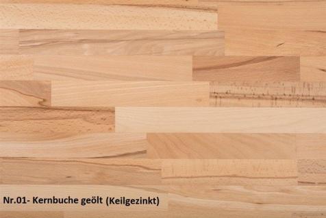 Couchtisch Tisch PARIS Kernbuche Massivholz 110x70 cm - Vorschau 3