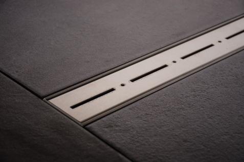 Duschrinne Dusch Badablauf Bodenablaufrinne NR.2 - 50 cm/ Edelstahl