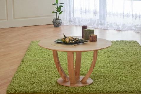 Couchtisch Tisch ROMI Kernbuche vollmassiv / Echtholz 80 x 80 cm - Vorschau 2