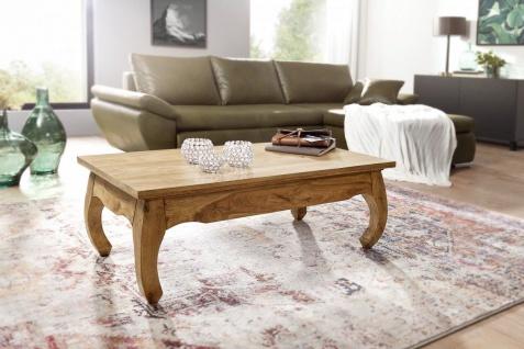 Couchtisch Massivholztisch OPUS 110x60 cm Holz Akazie - Vorschau 1