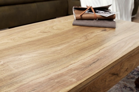 Couchtisch Massivholztisch OPUS 110x60 cm Holz Akazie - Vorschau 4