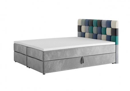 Boxspringbett Schlafzimmerbett RAINBOW 180x200cm Variante Nr.1 - Vorschau 2
