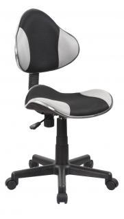 Drehstuhl Bürostuhl Stuhl - Nr 25 - Schwarz-Grau