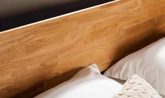 Massivholzbett Bett Schlafzimmerbet MAISON Eiche massiv 80x200 cm - Vorschau 3