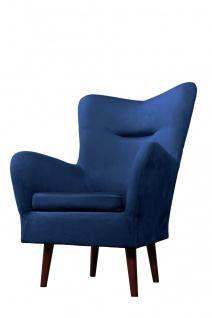 Sessel Wohnzimmersessel BOISE in diversen Stoff und Farbvarianten