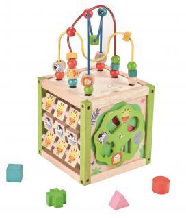 Holzspielzeug - Mein erster Aktivitätswürfel