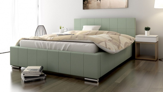 Polsterbett Bett Doppelbett GIORGIO 200x200cm inkl.Bettkasten - Vorschau 1