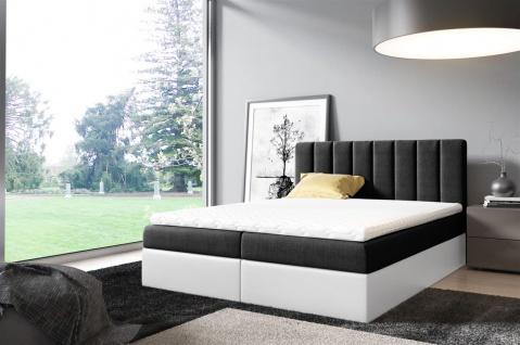 Boxspringbett Schlafzimmerbett ELSA 120x200cm inkl.Bettkasten