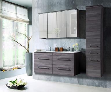Badmöbel Set 6-tlg Badezimmerset COSM Avola inkl.Waschtisch 120 cm