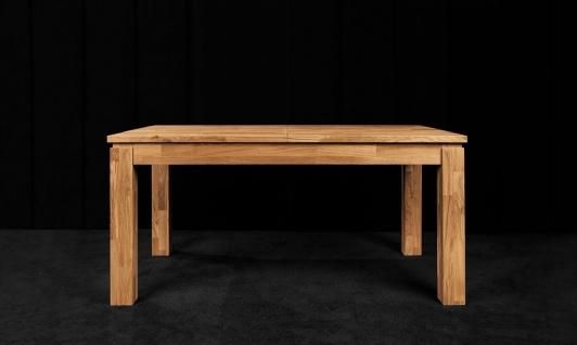 Esstisch Tisch ausziehbar MAISON Buche massiv 200/290x100 cm - Vorschau 2