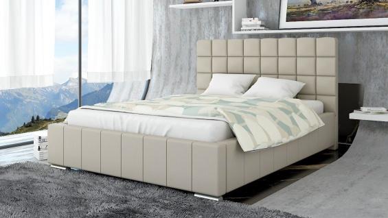 Polsterbett Bett Doppelbett MATTEO XS 160x200cm inkl.Lattenrost