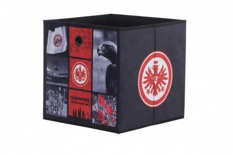 Faltbox Box - Eintracht Frankfurt / Nr.1 - 32 x 32 cm / 3er Set
