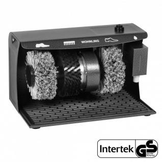 Schuhputzmaschine elektrisch - 3 Bürsten System Schuhputzautomat