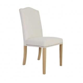 Polsterstuhl Stuhl 2er Set EMPO Massivholz Buche
