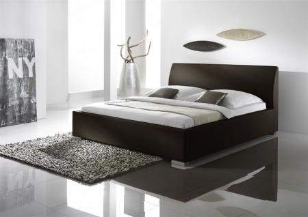 Polsterbett Bett Doppelbett Tagesbett - COSIMO 2 - 140x200 cm Braun