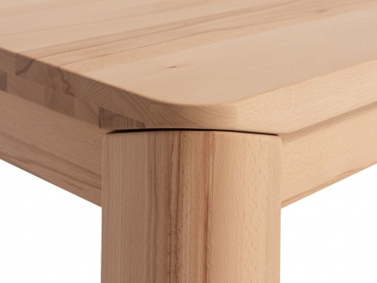 Couchtisch Tisch ANESE Kernbuche Massivholz 100x100 cm - Vorschau 2