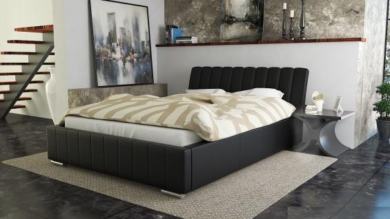 Polsterbett Bett Doppelbett IVANO XS 180x200cm inkl.Lattenrost