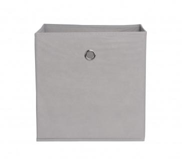 Faltbox Box Stoffbox- Delta - Größe: 32 x 32 cm - Schlamm - Vorschau 2