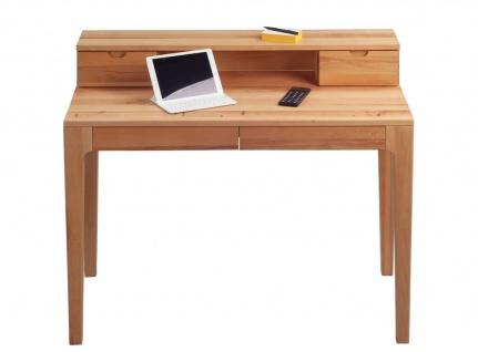 Schreibtisch Bürotisch Sekretär - Otto - 110x55 mm - Kernbuche massiv - Vorschau 2