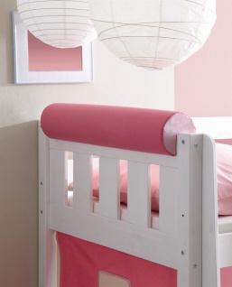 Funktions Kissen Nackenrolle PINK-ROSA für Hochbett Spielbett