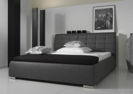 Polsterbett Bett Doppelbett Tagesbett - VERMONT - 180x200 cm Weiss - Vorschau 2