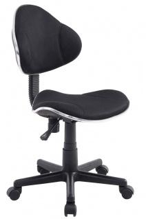 Drehstuhl Bürostuhl Stuhl - Nr 25 - Schwarz