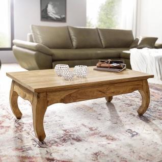 Couchtisch Massivholztisch OPUS 110x60 cm Holz Akazie - Vorschau 2