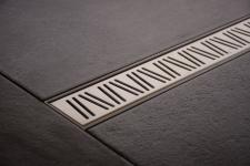 Duschrinne Dusch Badablauf Bodenablaufrinne NR.1 - 120 cm/ Edelstahl