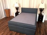 Boxspringbett Schlafzimmerbett SALERNA 120x200 cm inkl.Bettkasten
