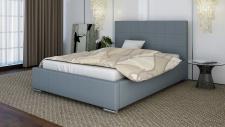 Polsterbett Bett Doppelbett GIORGIO XL 140x200cm inkl.Bettkasten