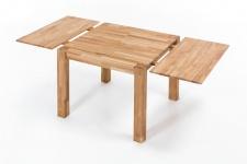 Ansteckplatte 40 cm für Tische DARVIN 120 und 80 cm Eiche massiv geölt
