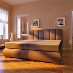 Boxspringbett Schlafzimmerbett ANCONA 120x200 cm