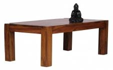 Couchtisch Massivholztisch AMAR 110x60 cm Holz Sheesham Landhaus-Stil