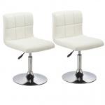 Esszimmerstühle Stuhle Küchenstuhl 2er Set - Bari - Weiss