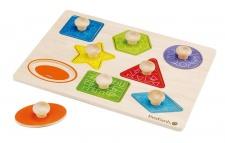 Holzspielzeug - Formen- und Holzpuzzle