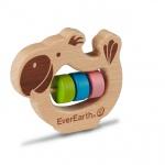 Holzspielzeug - Greifring Papagei