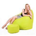 Sitzsack Belo XXXL - Sitzsackerlebniss in Nubuk und 20 Farben