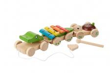 Holzspielzeug - Musikzug
