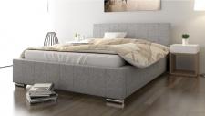 Polsterbett Bett Doppelbett GIORGIO 200x200cm inkl.Bettkasten