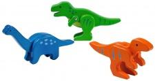 Holzspielzeug - Bambus Dinosaurier Set