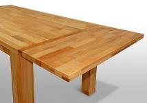 Ansteckplatte 50 cm für Tisch GERI XL 200x100 Buche massiv geölt