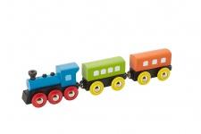 Holzspielzeug - Dampflokomotive