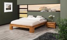 Futonbett Bett Schlafzimmerbet MAISON XL Wildeiche geölt 100x200 cm