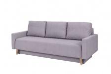 Sofa Schlafsofa KALMAR 3-Sitzer Grau
