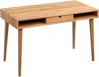 Schreibtisch Konsole Sekretär VINZ 120x75x60 cm Wildeiche massiv